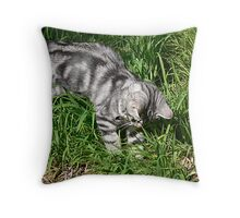 *POUNCE* Throw Pillow