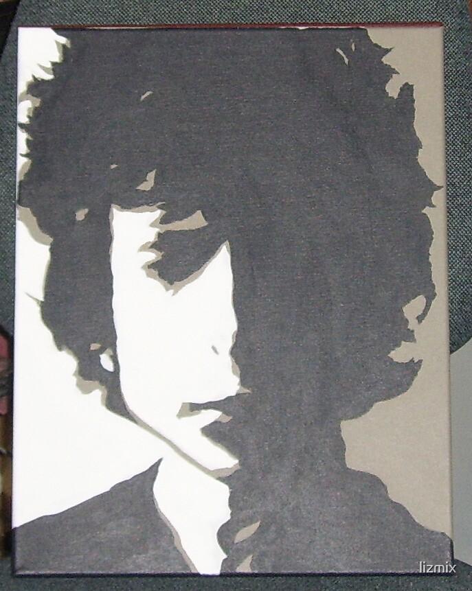 Bob Dylan Canvas by lizmix