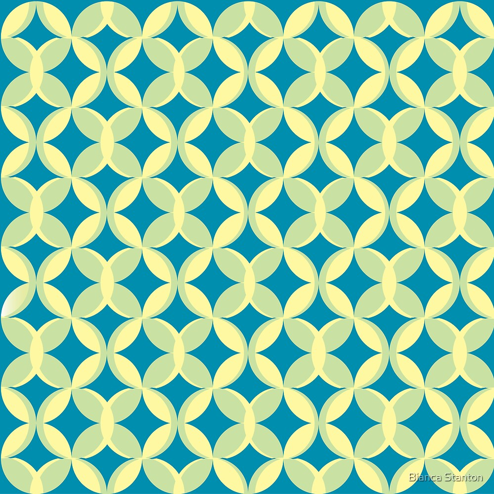 pattern blue by marbia