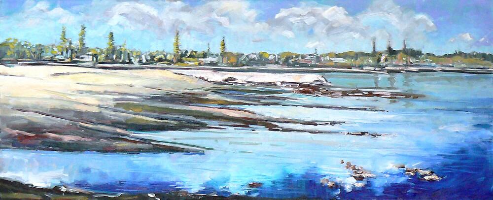 Low Tide Wynnum by Paul  Milburn
