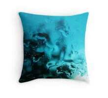 Lost Rain Throw Pillow