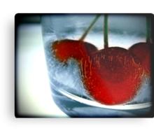 Ice Cherry Metal Print