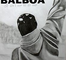 Sylvester Stallone by Dave Allen