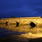 Convict built bridge at Ross, Northern Midlands, Tasmania by Christine Beswick