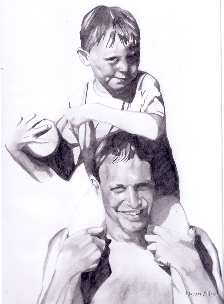 Father with Son by Dave Allen