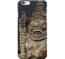 Black Temple, Thailand iPhone Case/Skin
