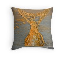 Fishtail Beach Throw Pillow