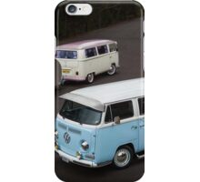 Twin Kombis with Teardrop Caravans iPhone Case/Skin