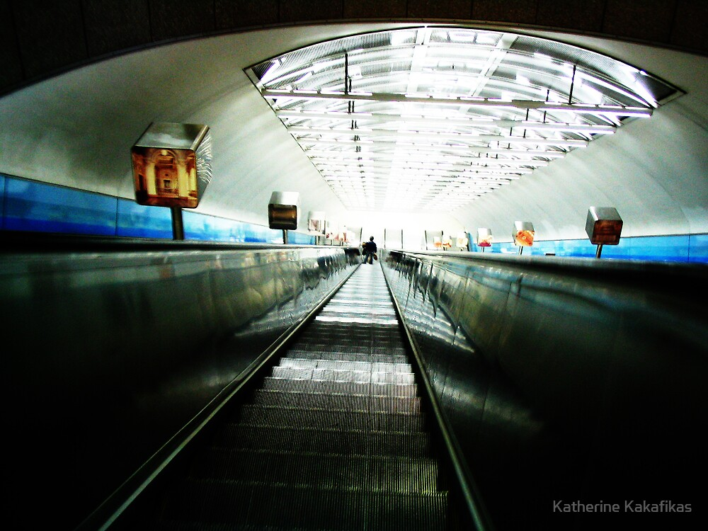 Lone Traveller by Katherine Kakafikas