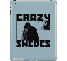 Crazy Swedes iPad Case/Skin