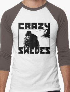 Crazy Swedes Men's Baseball ¾ T-Shirt