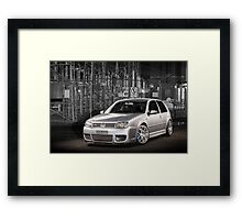 Jose's Volkswagen MkIV R32 Golf Framed Print