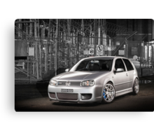 Jose's Volkswagen MkIV R32 Golf Canvas Print