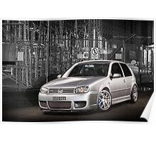 Jose's Volkswagen MkIV R32 Golf Poster