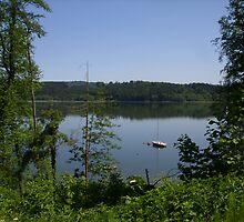 Summer Lake by GabbySunlight