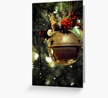 Ring, Christmas Bell Greeting Card