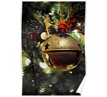 Ring, Christmas Bell Poster