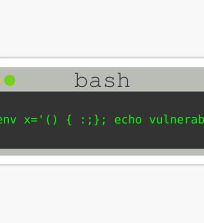 Bash - Terminal #3 Sticker