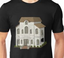 Glitch Apartment Exterior group hall mansion placeholder bea1 Unisex T-Shirt