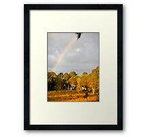 Australian Brush Framed Print
