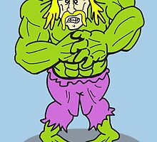 Hulkamania - The Hulk and Hogan As One by Mike McLeod
