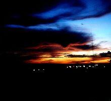 Manila at Dawn by jayravelo