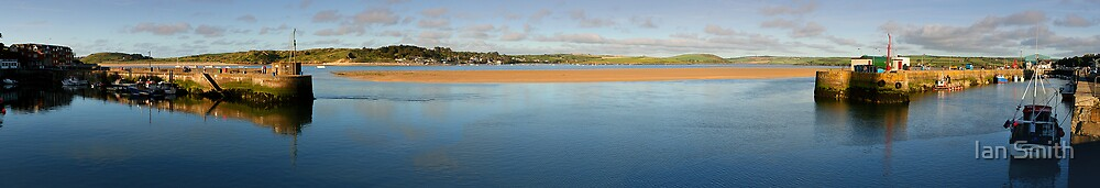 Padstow Harbour Cornwall by Ian Smith