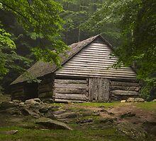 Bud Ogle's barn by Kevin Price