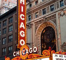 Chicago Theater by Paul Szymiczek