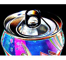 Coca-Cola in my eyes Photographic Print