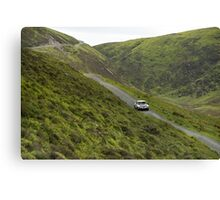 The Three Castles Welsh Trial 2014 Canvas Print