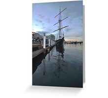 Tall Ship, Fleet Review, Darling Harbour, Sydney 2013 Greeting Card