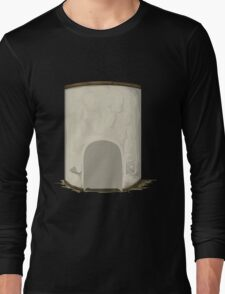 Glitch Apartment Interior apartment hall elevator Long Sleeve T-Shirt