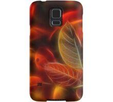 Glowing red Samsung Galaxy Case/Skin