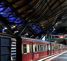 Platform 5, Spancer Street by Anuja Manchanayake