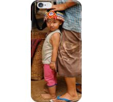 Burmese Girl iPhone Case/Skin
