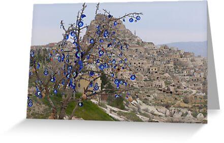 Evil Eye Tree by Anita Donohoe