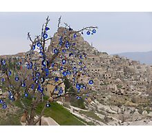 Evil Eye Tree Photographic Print