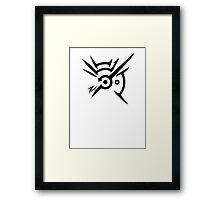 Dishonored - Symbolism Framed Print