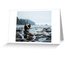 field of rock Greeting Card