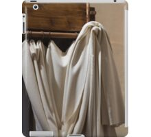 old bed with canopy iPad Case/Skin