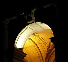 Arches of GPO, CBD Melbourne by Anuja Manchanayake