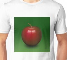 Abstract red apple Unisex T-Shirt