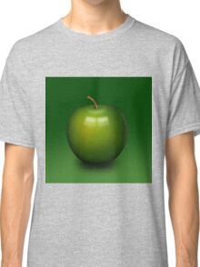 Abstract green apple Classic T-Shirt