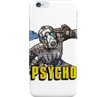 Borderlands The Presequel - The Psycho No logo iPhone Case/Skin