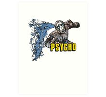 Borderlands The Presequel - The Psycho No logo Art Print