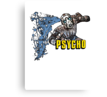 Borderlands The Presequel - The Psycho No logo Canvas Print