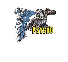 Borderlands The Presequel - The Psycho No logo Photographic Print