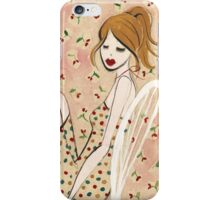 Girl Reclining iPhone Case/Skin