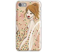 Girl Reclining iPhone Case/Skin